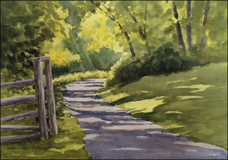 Road to N C Wyeth studio